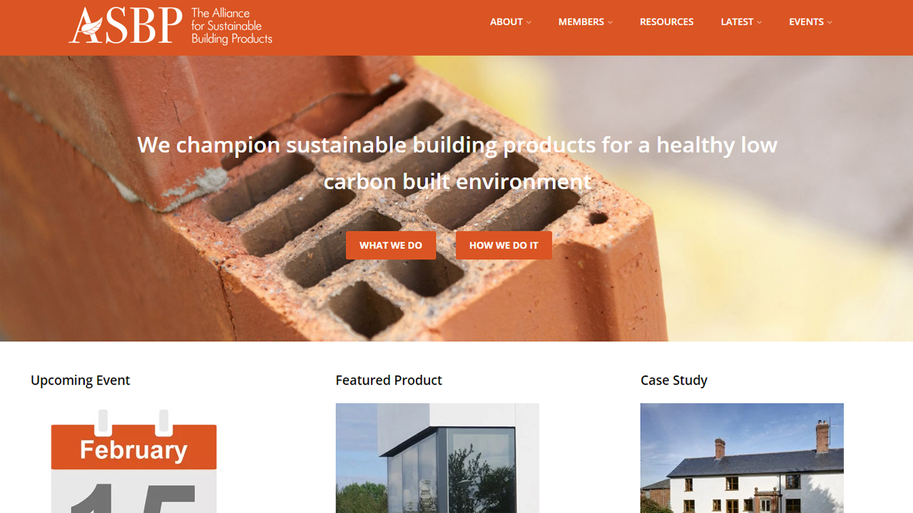 Alliance for Sustainable Building Products